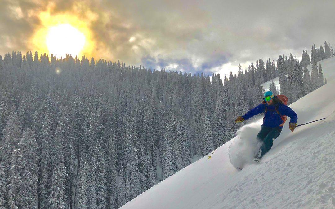December 26, 2017 – Snowpack Update – Columbia Bowls – Teton Pass