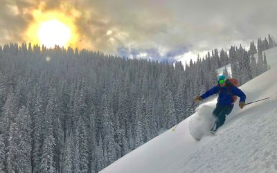 December 26, 2017 – Snowpack Update – Columbia Bowls – Teton Pass